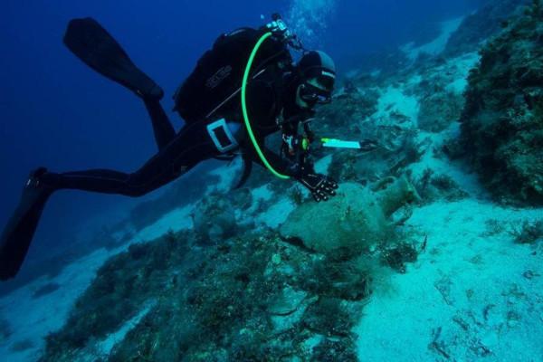 археология, античность, Греция, корабль, Эгейское море