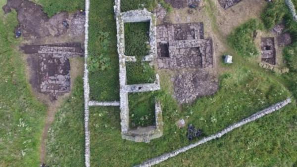 археология, ферма, Шотландия, викинги