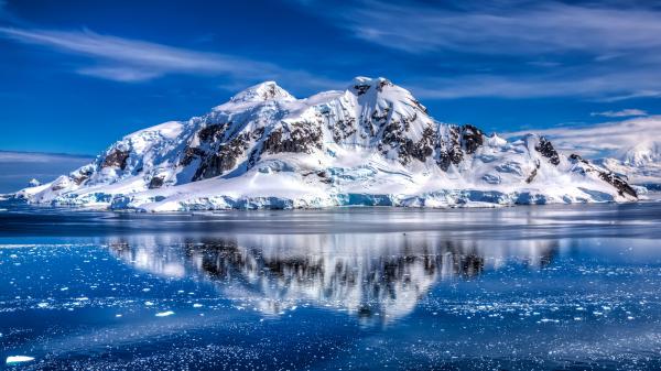 ученые, снег, космос, Антарктида