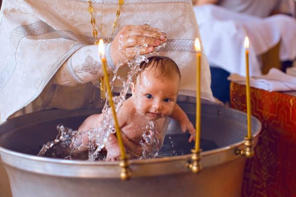 религия, священник, крещение, ребенок, Гатчина
