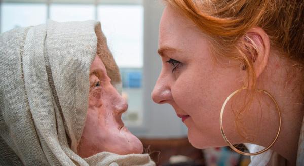 археология, женщина, лицо, друиды, железный век, Великобритания