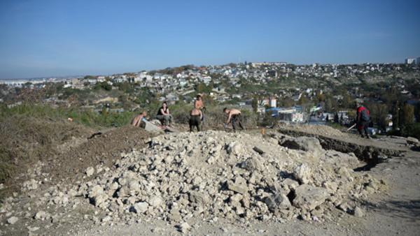 археология, античность, башня, Крым