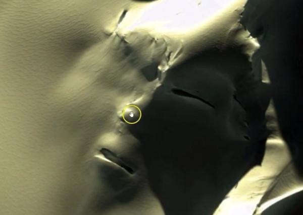 космос, Марс, марсианский сфинкс, Антарктида