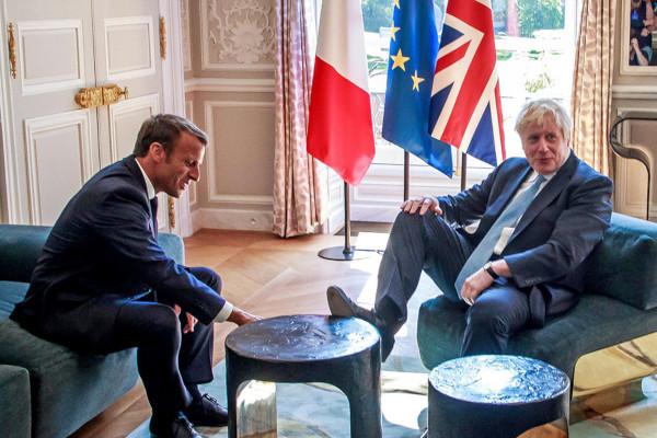 премьер-министр, Борис Джонсон, Великобритания, президент, Макрон, Франция
