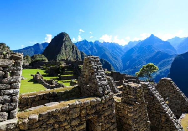 скелеты, захоронение, Перу