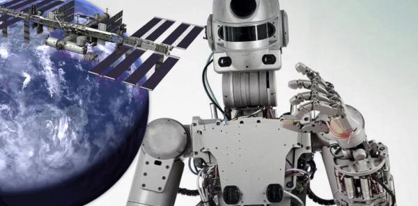 ученые, космос, робот, Федор