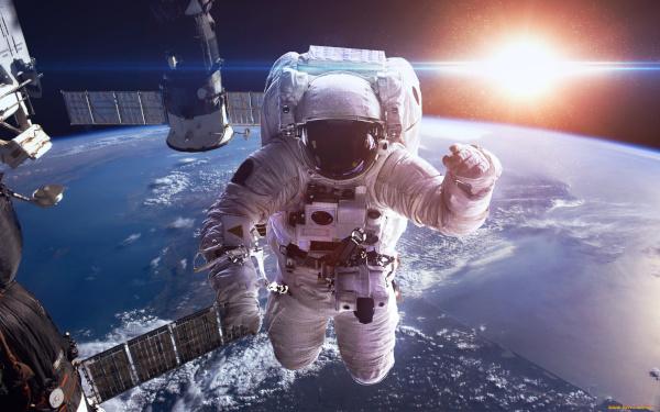 космос, женщины, космонавт
