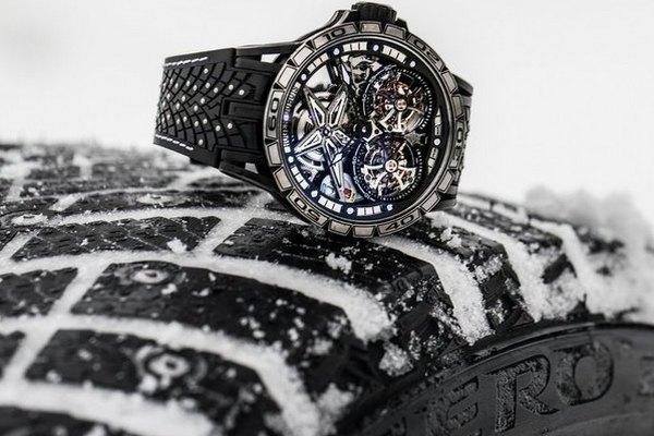 Швейцарские часы стали похожи на автопокрышки