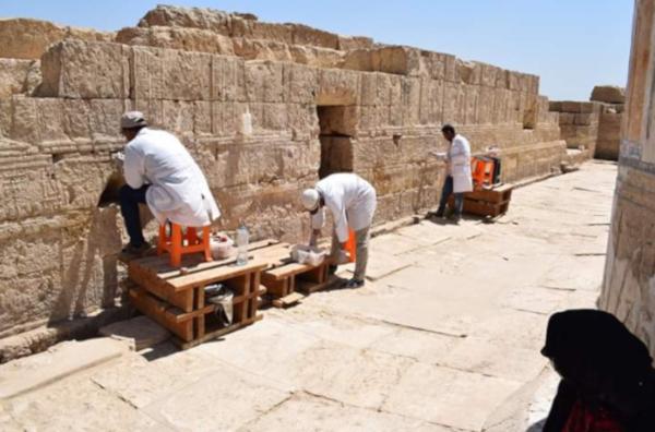 археология, реставрация, храм, Клеопатра, Египет