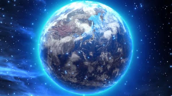 космос, Земля, линза, телескоп