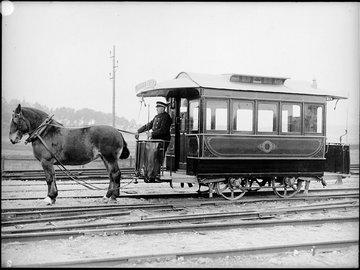 История трамвая: от лошадей на рельсах до элетротяги