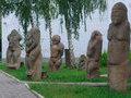 Искусство возведения  каменных баб  исчезло внезапно с падением половцев