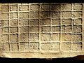 Палермский камень - один из самых ранних памятников истории Древнего Египта